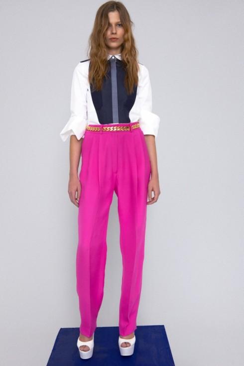 celine+pink+pants