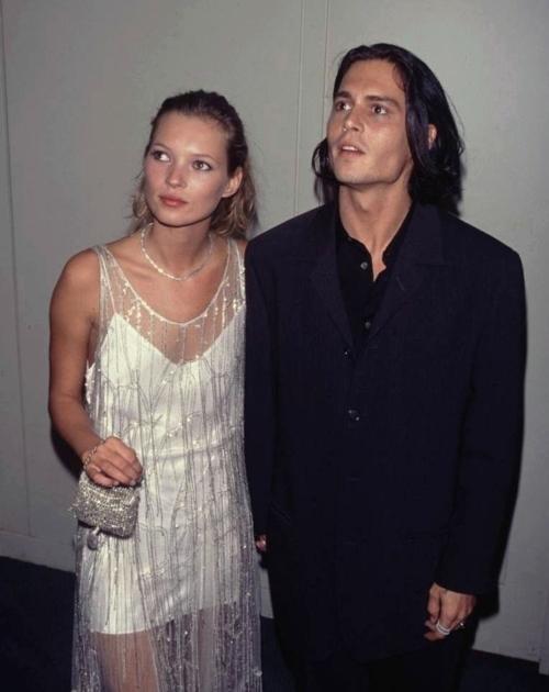 Kate Moss Johnny Depp Sixunderground